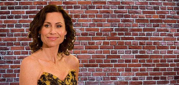 Minnie Driver (credit: Justin Hoch via Wikimeida) and an undisputed wall