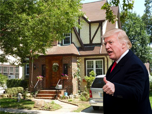 Trump's Boyhood Home in Queens Flips For $2.14 Million