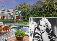 Birchwood Drive home, Marlene Dietrich (MLS/Getty Images)