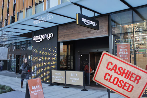 Here's what the new Amazon Go cashier-less convenience store looks like