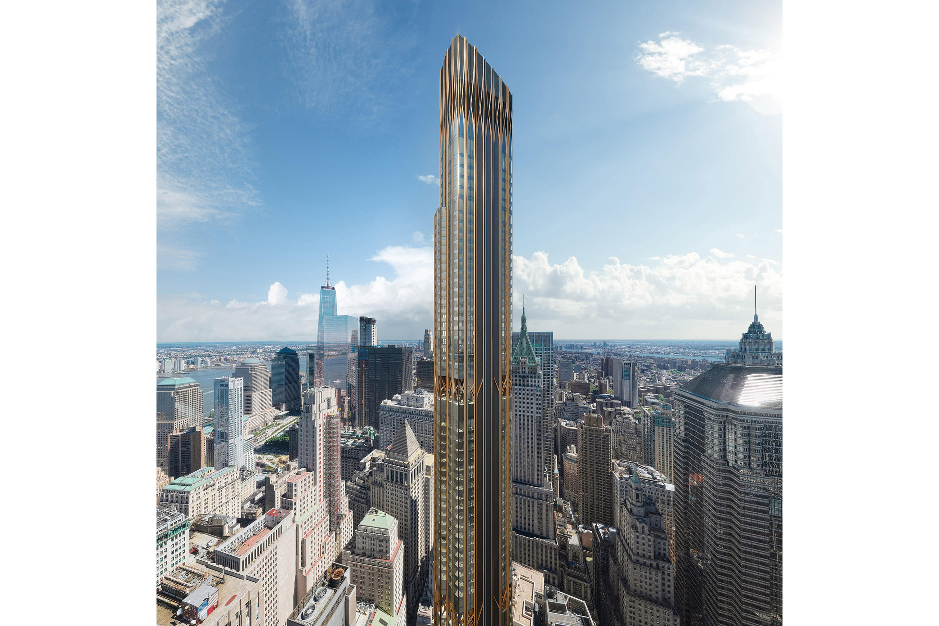 tallest towers nyc