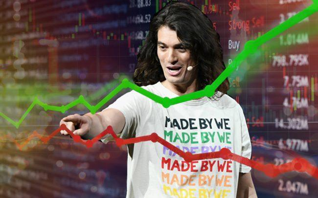 The We Company CEO Adam Neumann (Credit: Getty Images and iStock)
