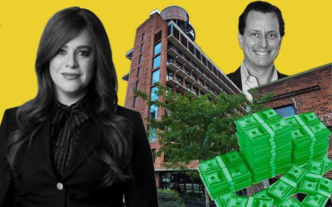 Heritage Equity Partners' Toby Moskovits, Benefit Street Partners real estate managing director Micah Goodman, and the Williamsburg Hotel at 96 Wythe Avenue (Credit: Google Maps)