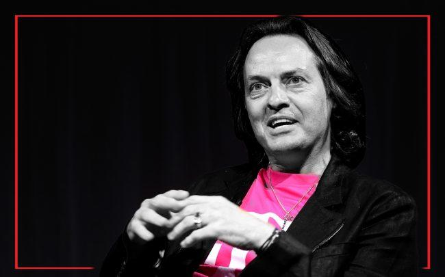 John Legere (Credit: Getty Images)