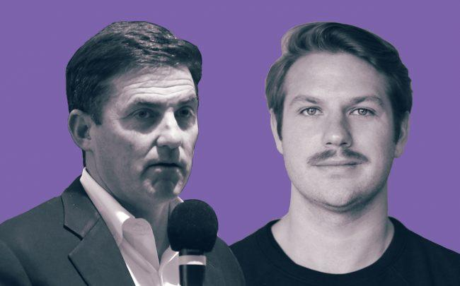 WeWork's Artie Minson and Managed by Q's Dan Teran