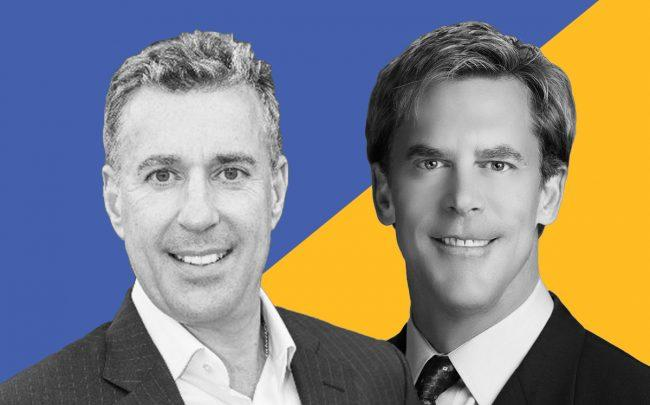 Lightbox CEO Eric Frank and ClientLook CEO Michael Griffin (Credit: iStock)