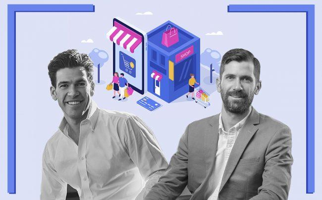 Fifth Wall Ventures' Brendan Wallace and Kevin Campos (Credit: iStock)