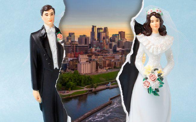 Minneapolis tops the list of best places to recover from divorce (Credit: iStock)
