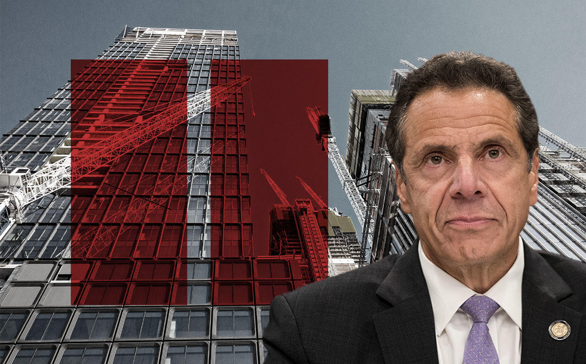 New York Governor Andrew Cuomo (Credit: Drew Angerer/Getty Images, and iStock)