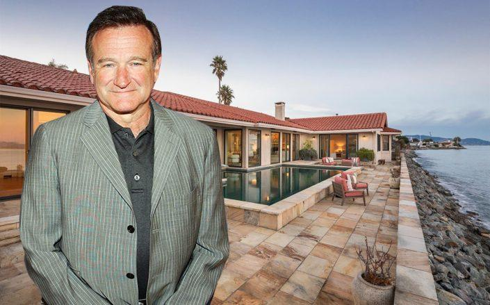 Robin Williams and 95 St Thomas Way (Getty, Compass)