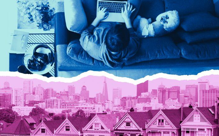 With many tech companies open to long-term remote work for their employees, questions are being asked about how that will impact the office and residential markets in hubs of tech talent. (iStock)