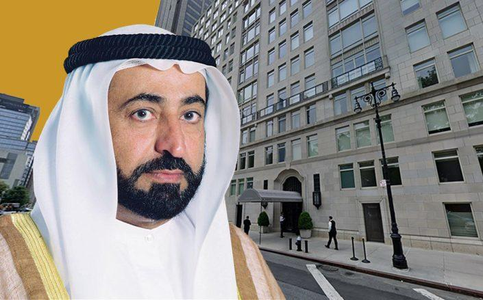 Sheikh Sultan A. Al Qasimi and 15 Central Park West (Google Maps)