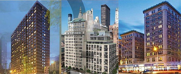 301 West 53rd Street, 88 & 90 Lexington Avenue and 235 West 75th Street
