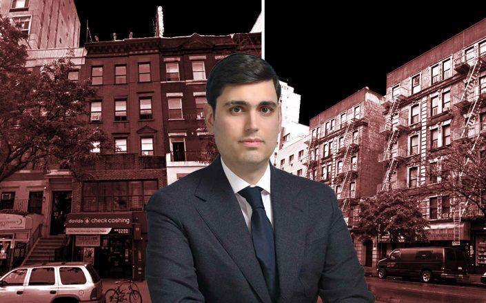 Isaac Kassirer of Emerald Equity at 110th Street at 116th Street and 120th Street at 116th Street (Google Maps; Emerald)