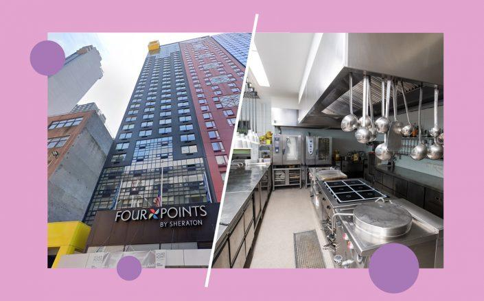 Four Points by Sheraton Midtown at 326 W 40th Street (Google Maps; iStock)