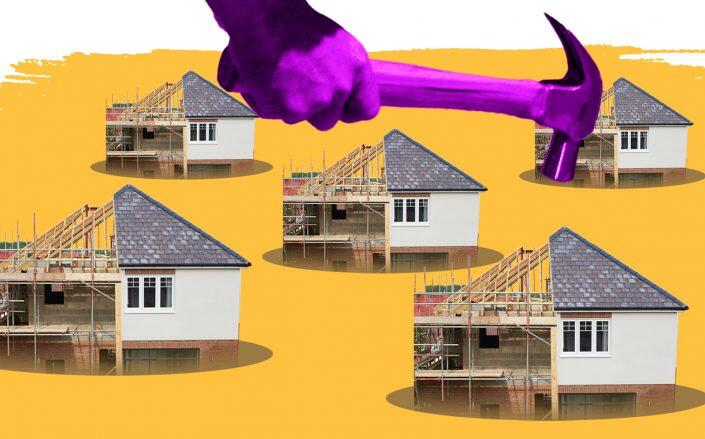 Demand for homes grew during the COVID-19 pandemic, but so did builders' labor and supply issues. (iStock)